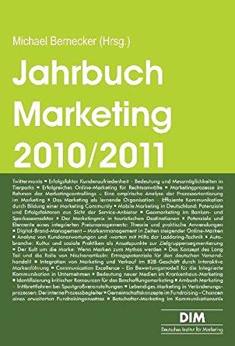 Jahrbuch Marketing 2010/2011: Trendthemen und Tendenzen