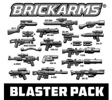 Star Wars Weapon (BrickArms Blaster Pack 2.5-Inch Weapons Pack)
