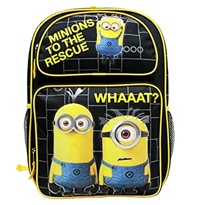 Despicable Me Minions To The Rescue Large 16 Backpack by Bag2School | Kids' Backpacks