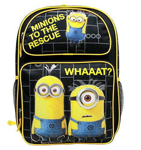 Despicable Me Minions To The Rescue Large 16 Backpack by Bag2School -