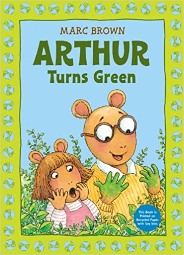 arthur goes to school book