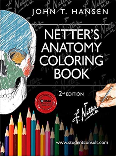 Netters Anatomy Coloring Book With Student Consult Access Netter Basic Science 2nd Edition