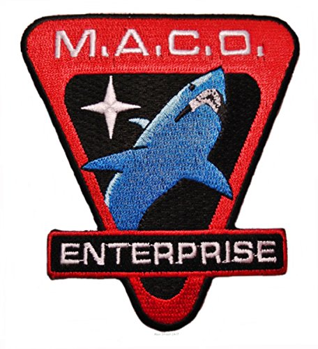 Street Shark Costume (Star Trek Enterprise Maco Commandos Shark 3 1/2