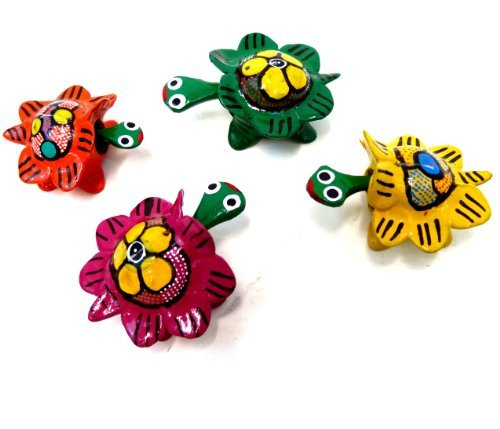 Mexican Toy - Bobble Head Turtles Mexican Toy (set of 4)