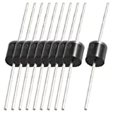 VNDEFUL 10 Pcs Molded Plastic Case 1000V 10A Fast Recovery Rectifier Diodes 10A10