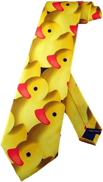 Steven Harris - Corbata de goma para hombre, diseño de pato ...