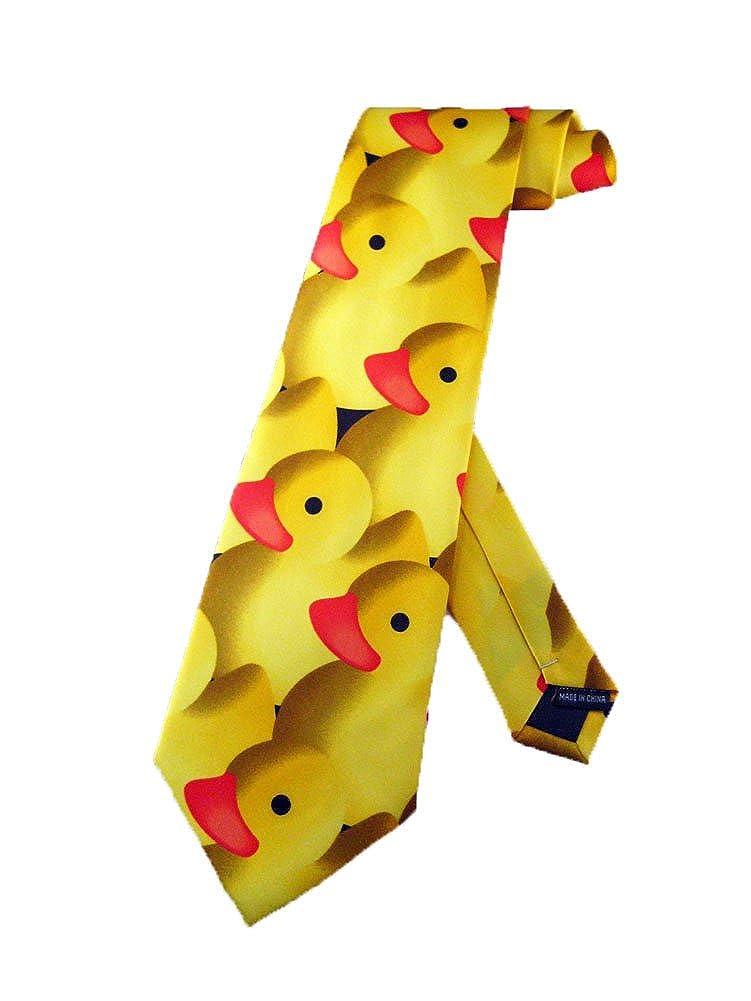 Steven Harris Hombres Patito de goma corbata - Amarillo - Talla ...