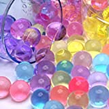 2 Ounce Pack- 60 Grams - (Almost 4,000 ) Jelly BeadZ  Water Bead Gel- Bright Rainbow Mix