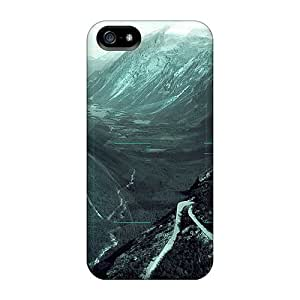 Durable North Blue Back Case/cover For Iphone 5/5s by icecream design
