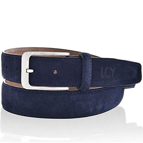 Suede Leather Belt for Men 35mm 44 (Suede Leather Belt Strap)