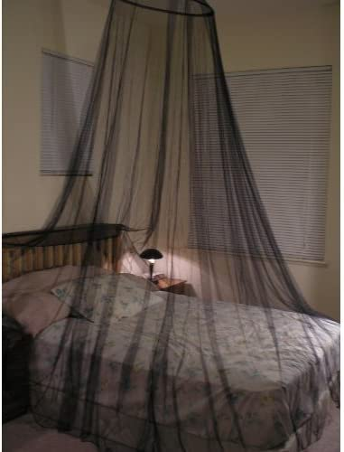 OctoRose ® Round Hoop Bed Canopy Netting Mosquito Net Fit Crib Twin Full & Shop Amazon.com | Bed Canopies u0026 Drapes