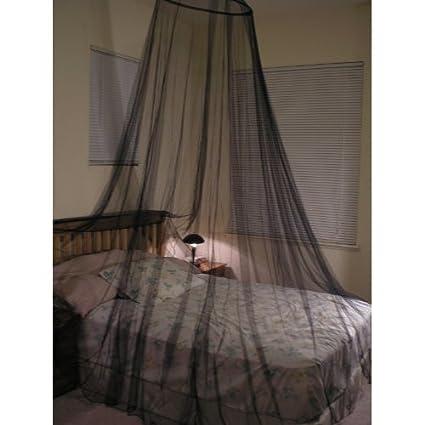 Octorose ® Black Hoop New Bed Canopy Mosquito Net / Canopy  sc 1 st  Amazon.com & Amazon.com: Octorose ® Black Hoop New Bed Canopy Mosquito Net ...