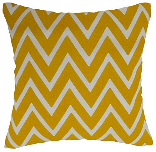 Yellow White Rm43 R M Industries Dba Edie 4600k22cvr Banana Zappilar Indoor Outdoor Polyester Canvas Decorative Throw Pillow Cover 22 X 22 Throw Pillow Covers Home Kitchen