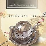 Clothful  Stainless Steel Loose Tea Infuser Leaf Strainer Filter Diffuser Herbal Spice