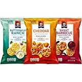 quaker popped cheese - Quaker Rice Crisps, Savory Mix, 0.67 oz Bags, 30 Count (Packaging May Vary)