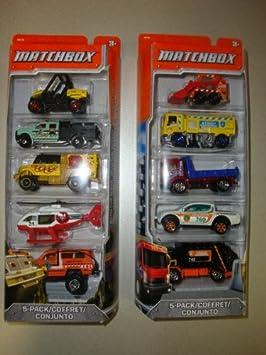 Matchbox - Matchbox 5-Pack de 2 Gift Set C1817 9120055081074: Amazon.es: Juguetes y juegos