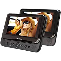 Sylvania Dual Screen 7 Portable DVD Player ( Certified Refurbished )