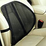 Zone Tech Set of 4 PosturePro Mesh Office Chair & Car Seat Lumbar Back Support