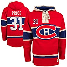 Montreal Canadiens Carey Price Lacer Heavyweight Pullover Hoodie