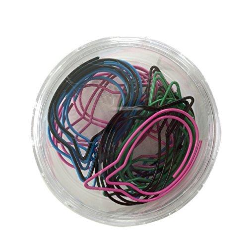 VÄLBEKANT Paper Clips, assorted colors, decorative, bubble shapes