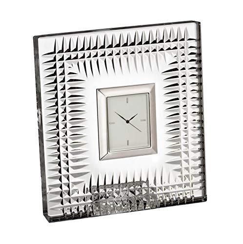Waterford Lismore Diamond Pattern Bedside Clock