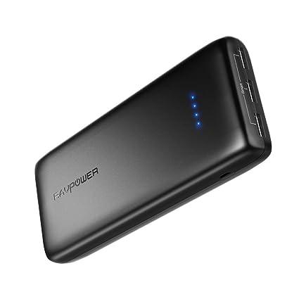 Amazon.com: RAVPower Cargador portátil de 22000mAh ...