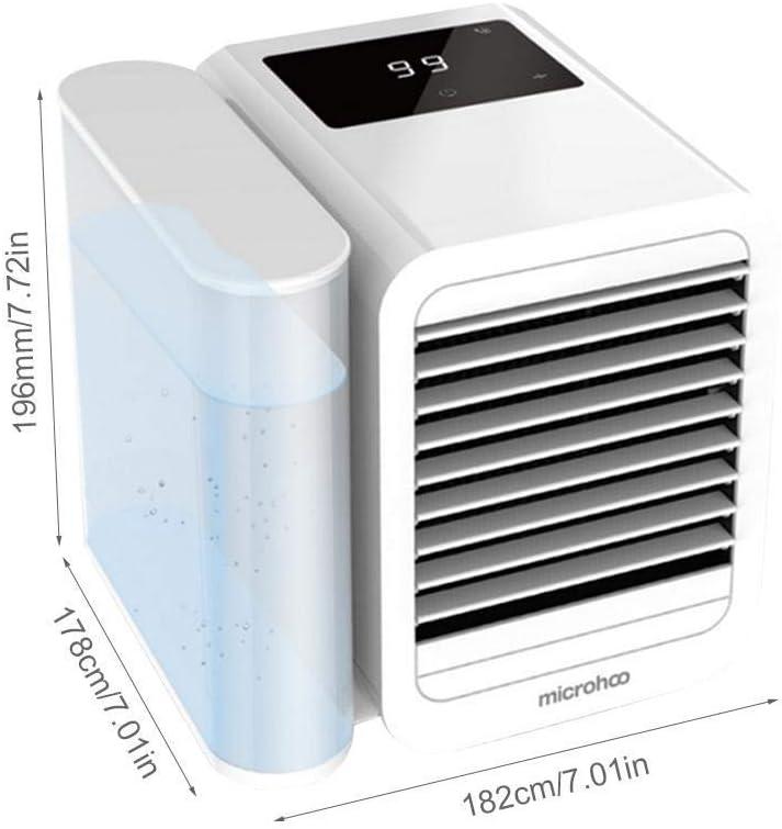 LHZHG Aire Acondicionado Portátil Enfriador, 3-en-1 Mini Enfriador ...