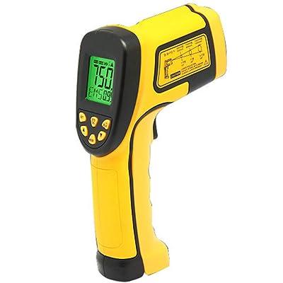 FULANTE Thermomètre Infrarouge, Pistolet de Mesure de température Industriel Haute précision thermomètre électronique de Poche Haute température de 50 à (-50~750 °) Sports et Loisirs