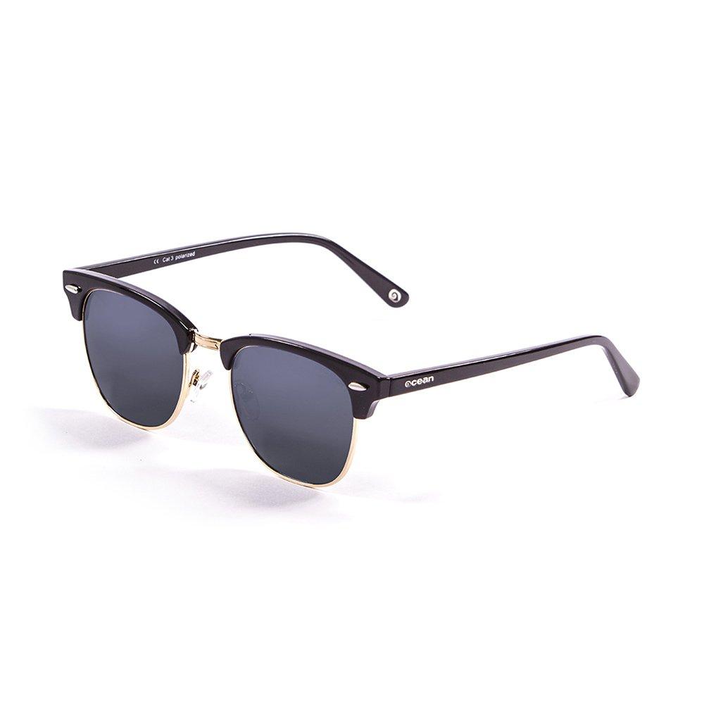 OCEAN SUNGLASSES Mr.Bratt - lunettes de soleil polarisÃBlackrolles - Monture : Noir LaquÃBlackroll - Verres : FumÃBlackrolle (70000.1) qYEwUd91P