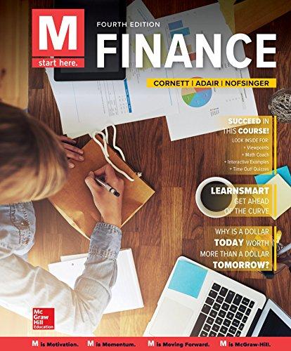 Standard Loose Leaf - Loose Leaf for M: Finance