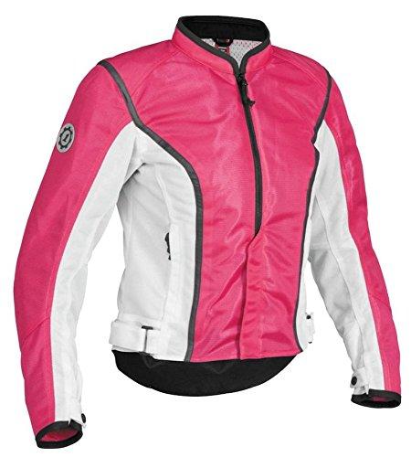 Firstgear Womens Contour Mesh Jacket - Contour Mesh Womens Jacket, Manufacturer: Firstgear, CONTOUR MESH JKT PNK/BLK WLG