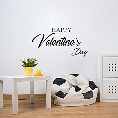 Valentine's Wall Stickers,Muxika Fashion Removable Vinyl Decal Art Mural