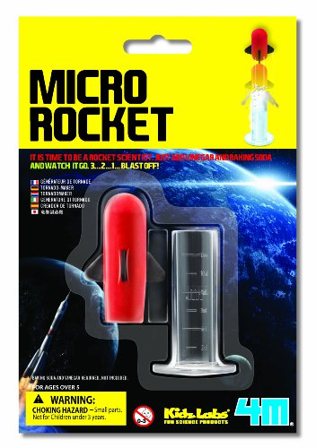 4M Kidz Labs Micro Rocket Launcher
