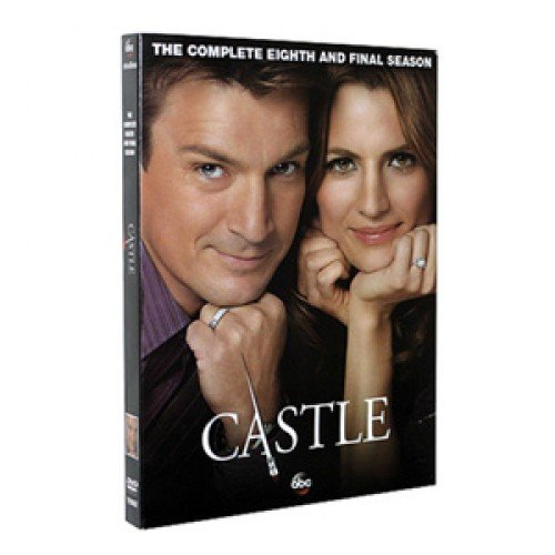 Castle : Complete Eighth and Final Season (Series Season 8, 5-DVD Set) USA Format Region 1 Preorder