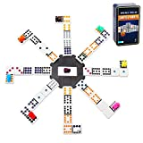 Best Mexican Train Dominoes - Doublefun Mexican Train Dominoes Set, Color Double 12 Review