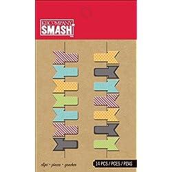 Smash Clips 14/Pkg-Tiny Flag
