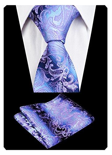 Pochette Violet Mouchoir cravate Alizeal floral homme amp; UIqz1xH1