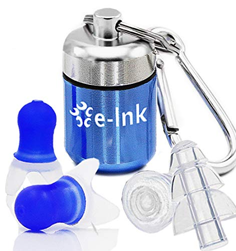 E-Link Ear Plugs for Sleeping Earplugs Custom for Snoring Noise Cancelling Ear Plugs for Shooting Concerts Musician Hearing Protection Ear Plugs for Sleep Snoring Kids Study Work Travel