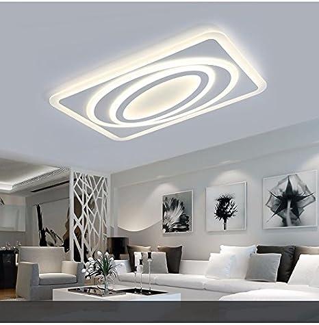 LPLFCeiling Moderne Wohnzimmer Lampe Led - Ultra Thin ...