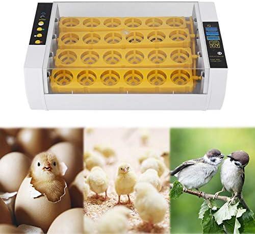 定温器ハッチャーのデジタル明確な卵の回転の定温器ハッチャーの温度調整の卵の定温器の孵化機械 (60w-24Egg)