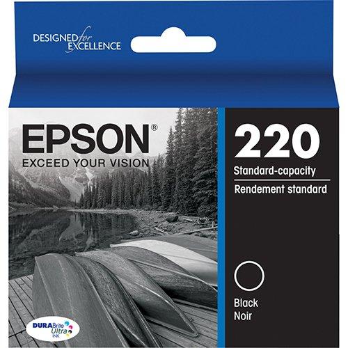 Genuine OEM Epson 220 Black Ink Cartridge