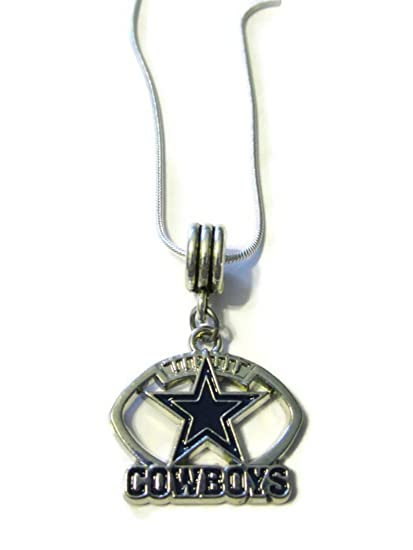 Amazon dallas cowboys sterling silver 18 necklace sports dallas cowboys sterling silver 18quot necklace aloadofball Images