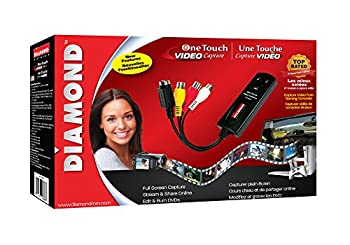 Diamond Vc500 Usb 2.0 One Touch Vhs To Dvd Video Capture Device With Easy To Use Software, Convert, Edit & Save To Digital Files For Win7, Win8 & Win10 15