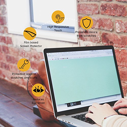 Celicious Matte Anti-Glare Screen Protector Film Compatible with Acer TravelMate P6 TMP648-M [Pack of 2] by Celicious (Image #4)