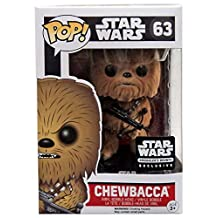 Funko POP! Star Wars Flocked Chewbacca Smuggler's Bounty Exclusive #63 by POP!