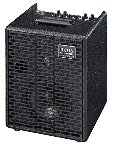 Rivera Acoustic Amps - Acus Sound Engineering 03000602 OneforStrings 6T Acoustic Guitar Amplifier - Black