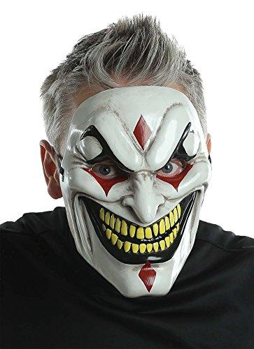 BESTPR1CE Halloween Mask- Evil Jester Injection Mask -Scary Mask