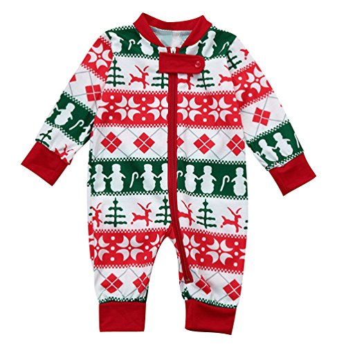 44c56607603e ISSHE Matching Family Christmas Pajamas Baby Kids Boys Adult Tree ...