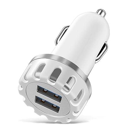 GST 2.1A 5V Cargador de Coche USB Doble Cargador de Coche de ...