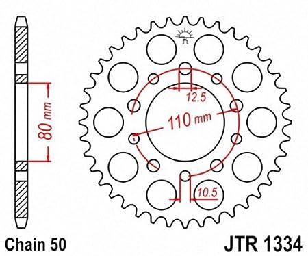 JT Sprockets JTR1334.40 40T Steel Rear Sprocket